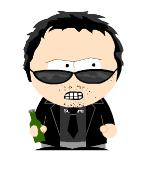 dave as a south park character